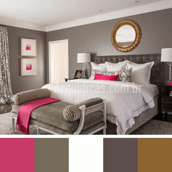 cor de quarto de casal
