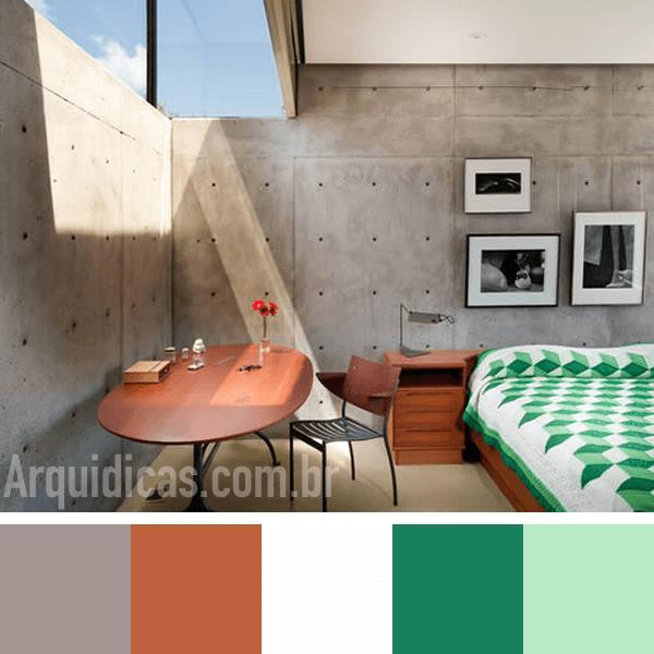 cor do quarto