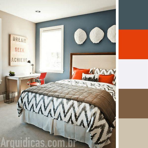 cores de quartos