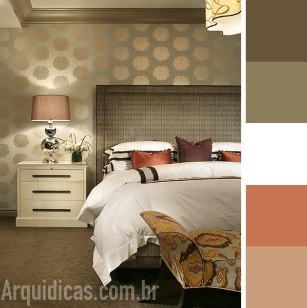 cores neutras para quarto