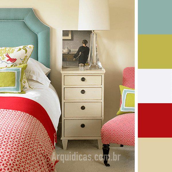 cores para quartos