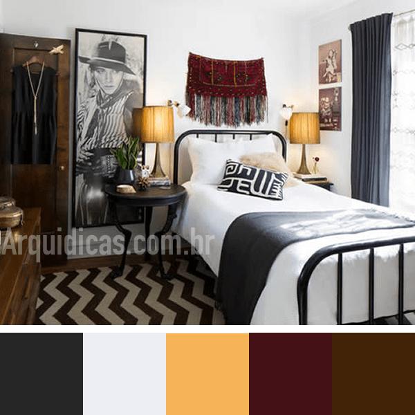 cor para quarto pequeno