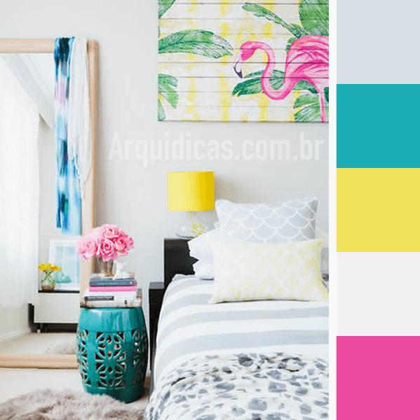 quarto colorido