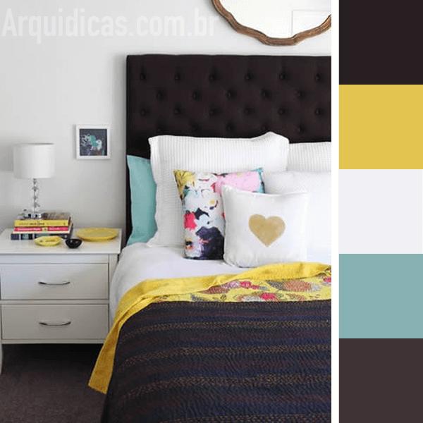 decoracao quarto azul turquesa e amarelo – Doitricom