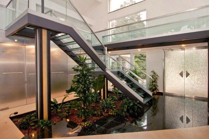 jardins de inverno escadas