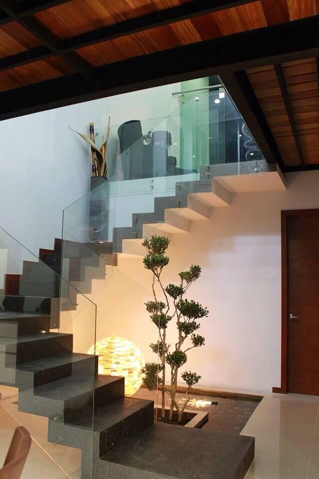 jardim de inverno escadas