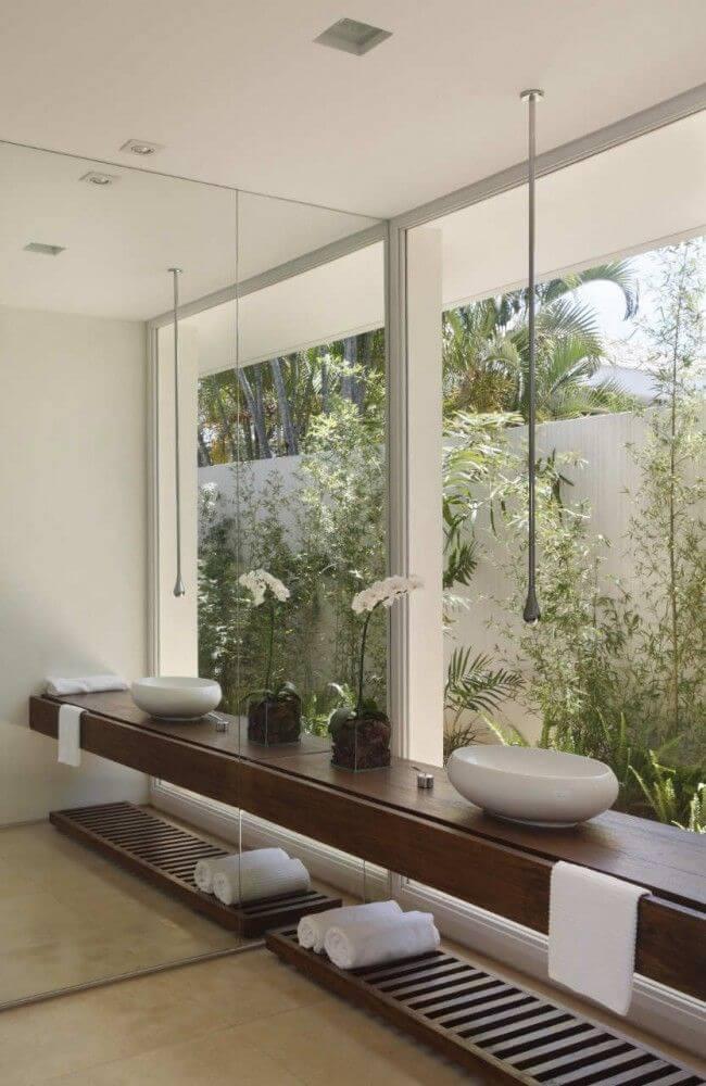 jardim de inverno lavabo