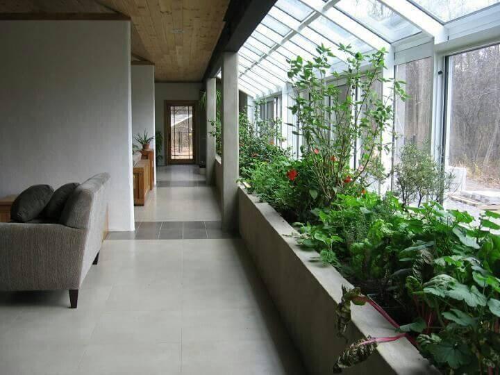 jardim de inverno sala