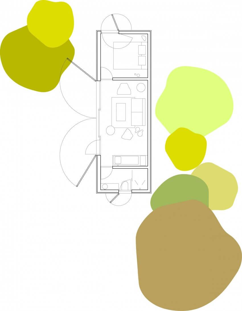 planta da casa aph 80