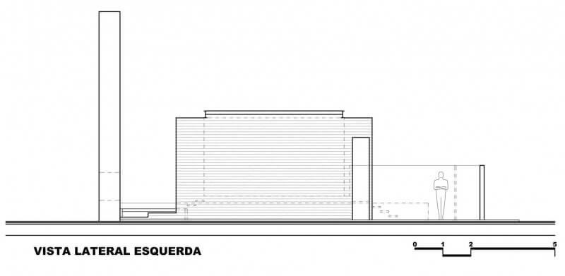 casa 1220 elevação lateral