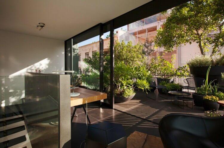 small house escritório
