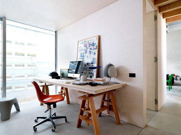 the shed escritório