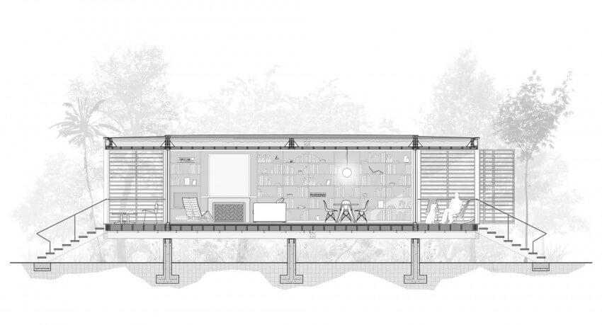 brillhart house elevação