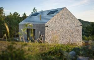 compact karst house casa