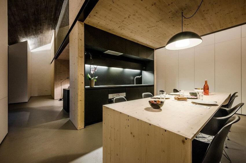 compact karst house cozinha