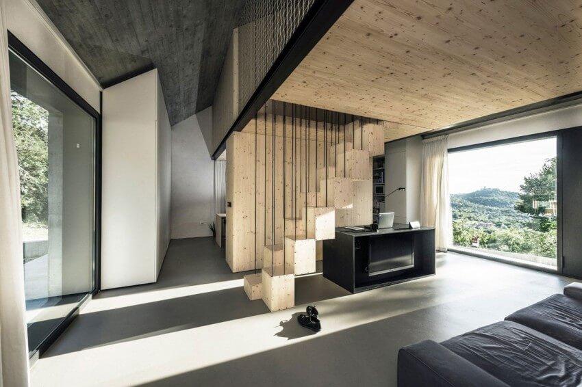 compact karst house escada
