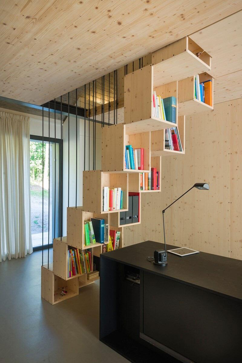compact karst house escritório