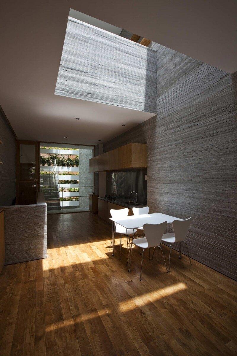 stack green cozinha