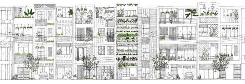 stack green desenho