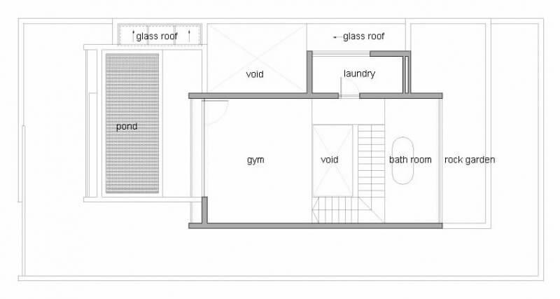 casa m11 planta do 2º pavimento