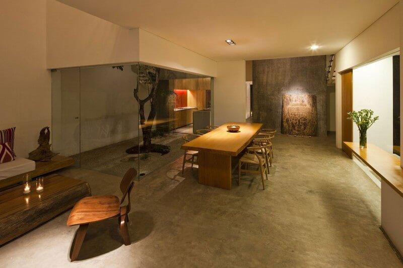 casa m11 sala de jantar
