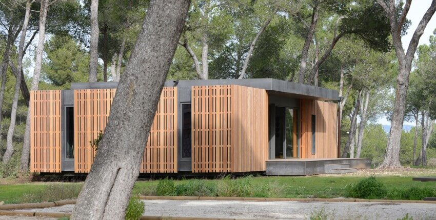 pop-up house fachada