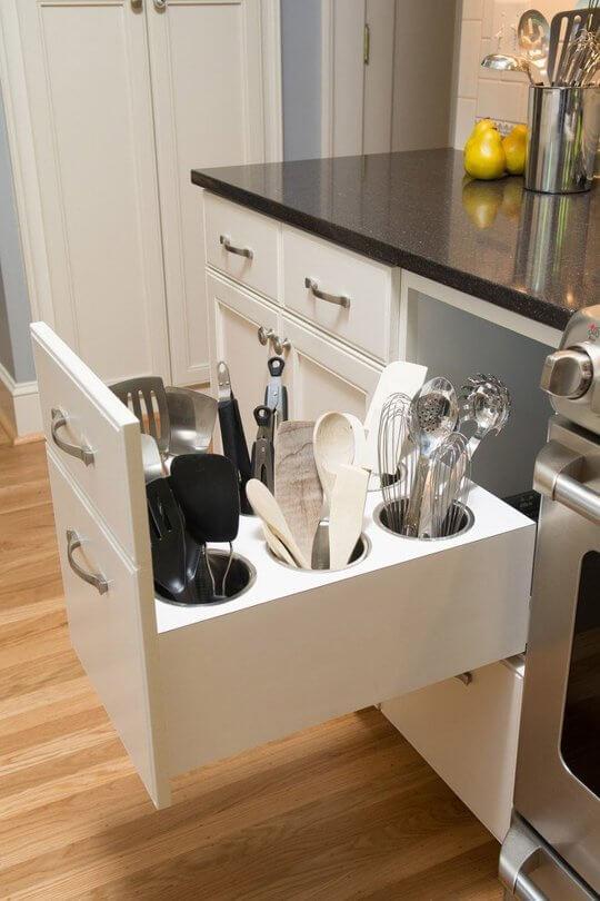 gaveteiro para cozinha