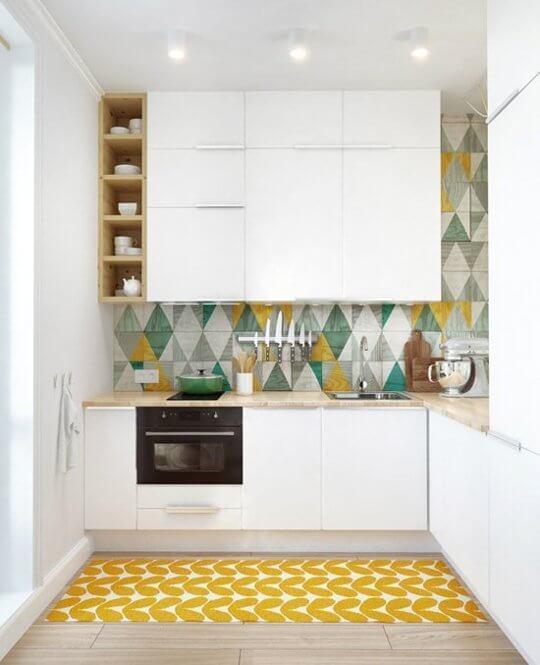 armários para cozinha pequena e planejada