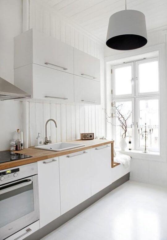 cozinha planejada linear