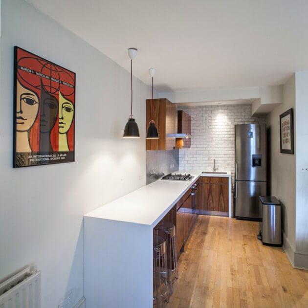 cozinha planejada pequena em l