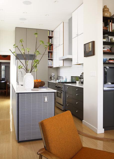cozinha planejada pequena em u