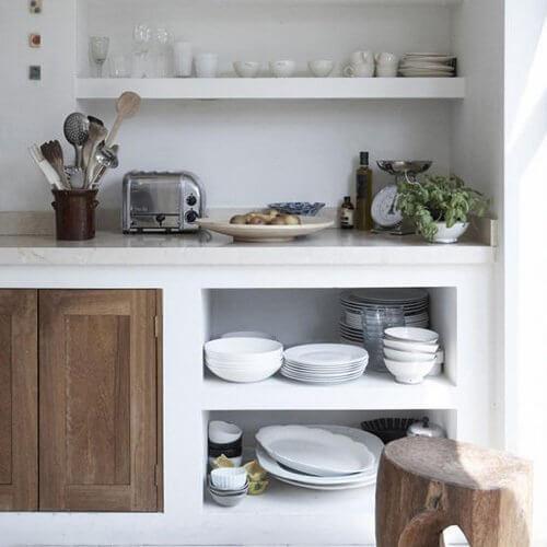 Cozinha planejada pequena dicas ideias e fotos arquidicas - Ver cocinas rusticas de obra ...