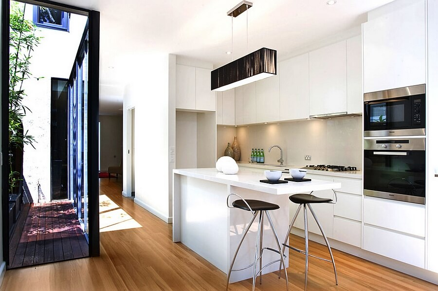Cozinha planejada pequena dicas ideias e fotos arquidicas for Petite cuisine ouverte en l