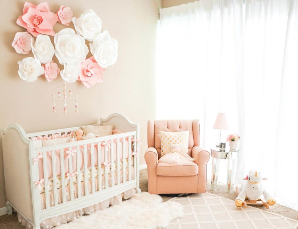 quarto de menina bebe