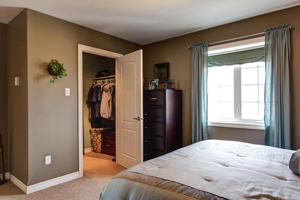 quarto de casal com closet