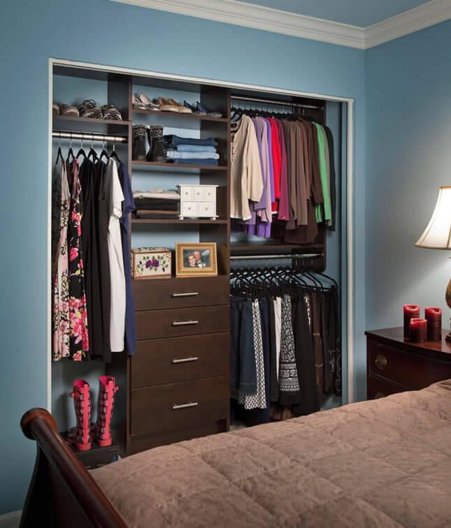 Dicas para closet pequeno arquidicas for Ideas puertas de closet