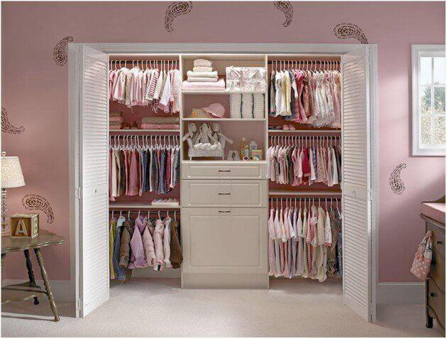 closet de bebê