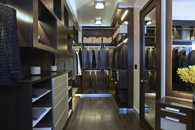 Dicas para closet pequeno arquidicas - Cool closet bathroom design and interior ...