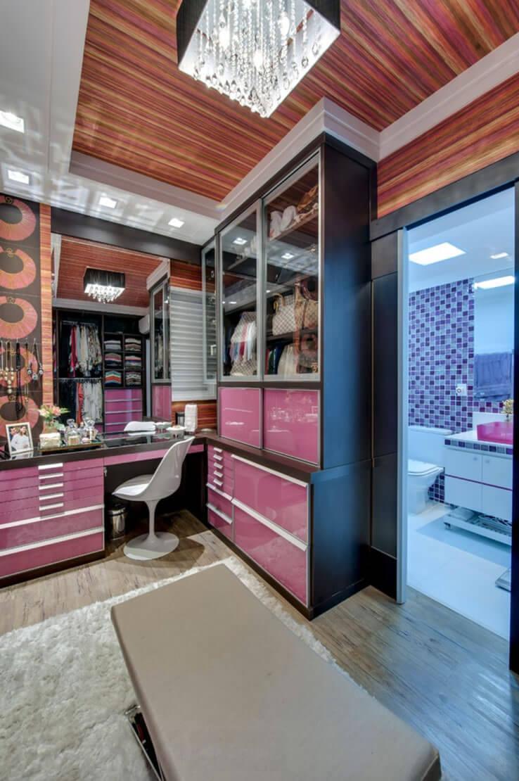 closet e banheiro