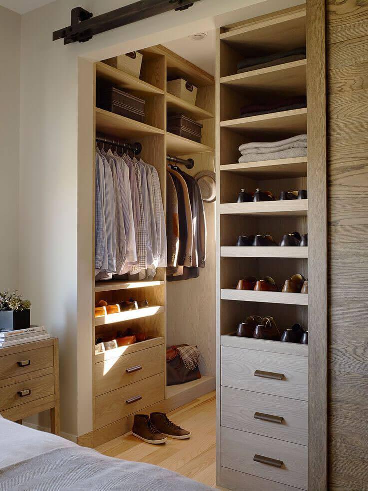 closets masculinos