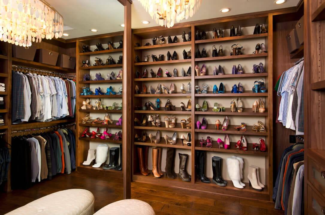 Dicas para closet pequeno arquidicas - Storage ideas for clothes in small bedroom ...