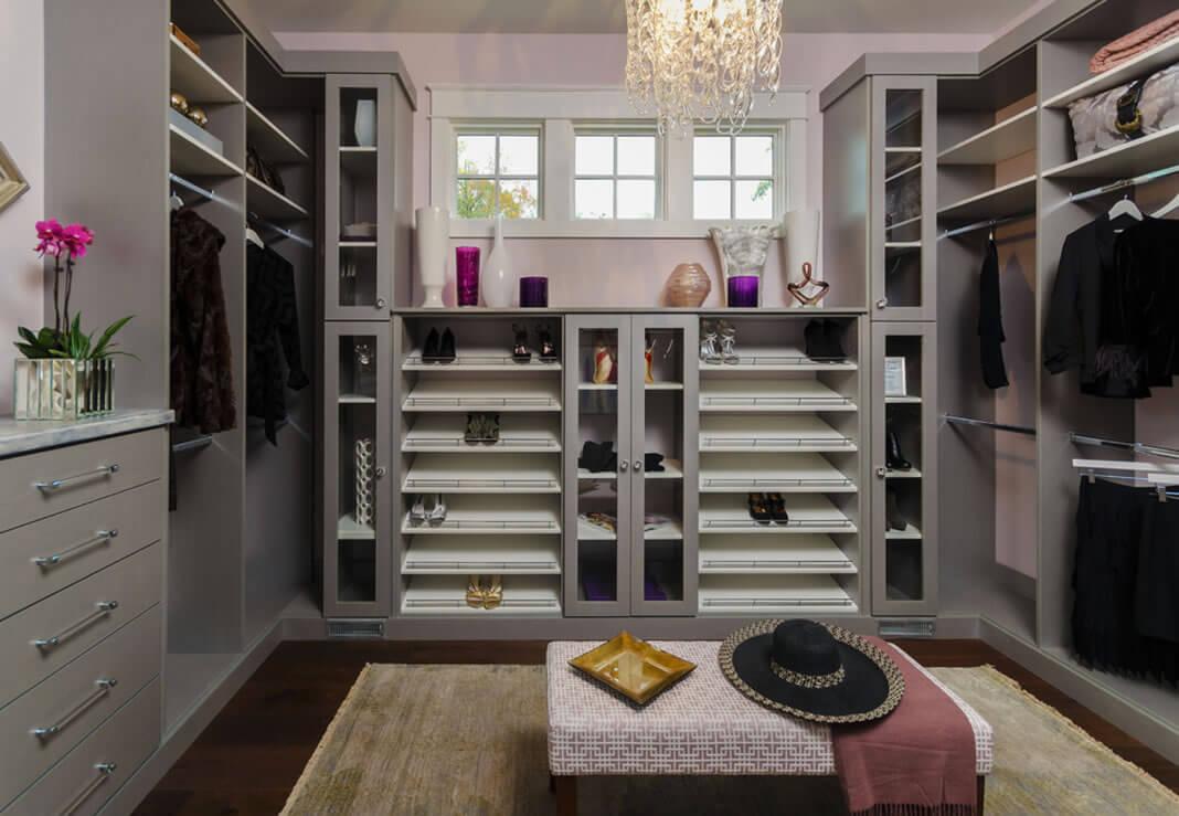 como planejar um closet