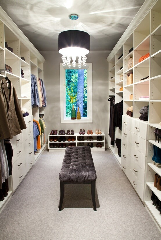 ideias para closet pequeno