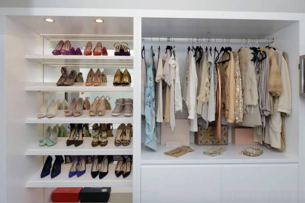 Dicas para closet pequeno arquidicas for Modelos de walk in closet