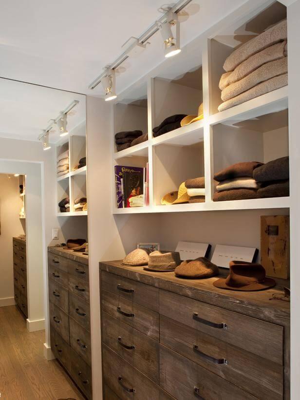 nichos para closet