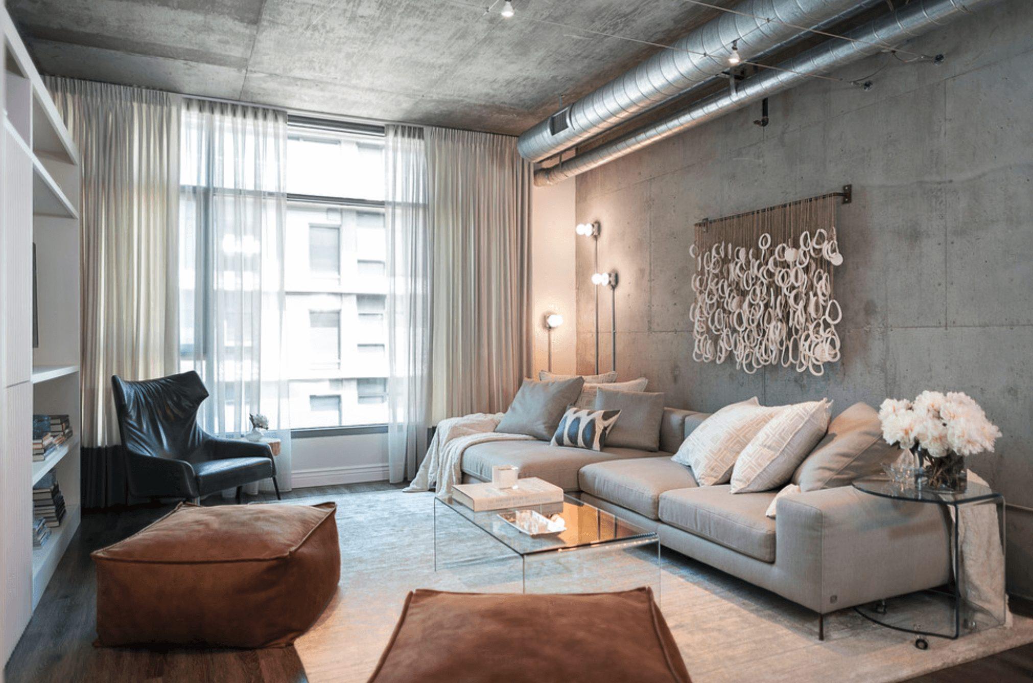 Sala pequena moderna