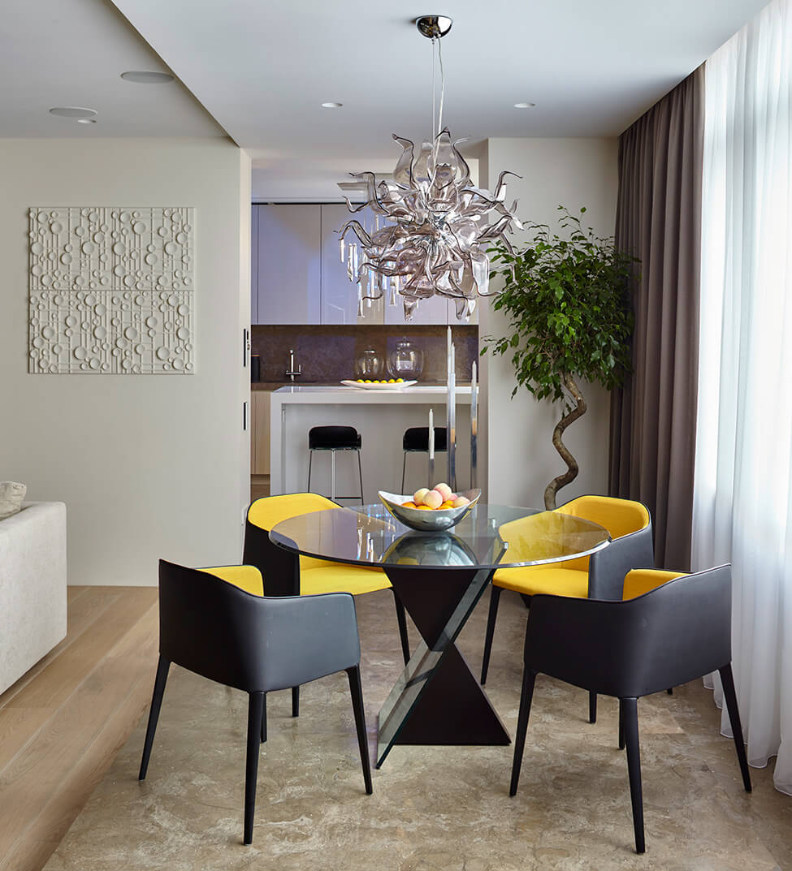 Salas pequenas 41 fotos de salas decoradas arquidicas for Sala cocina pequena