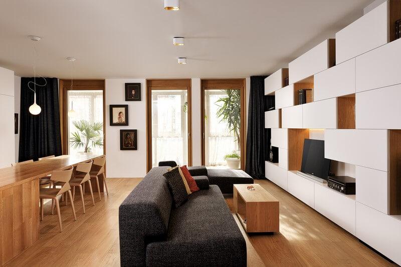 Salas integradas pequenas