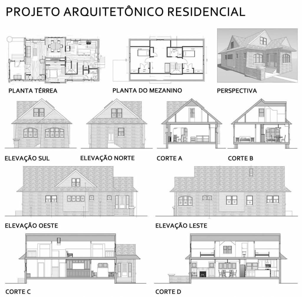 projetos de casa