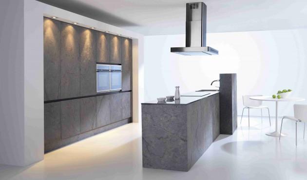 projetos de cozinhas minimalistas